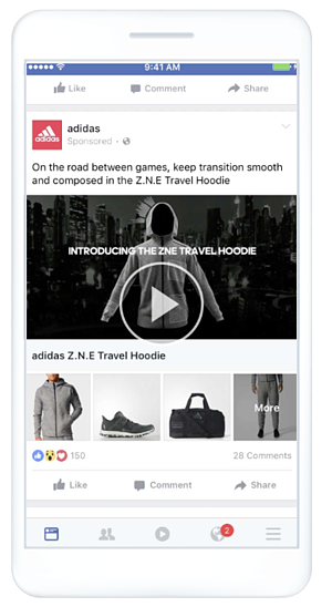 addidas-facebook-instant-experience-storefront-sample